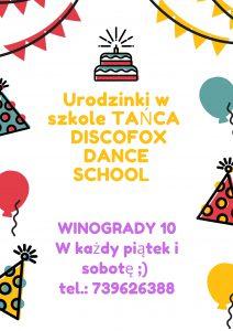 Urodzinki w Szkole Tańca